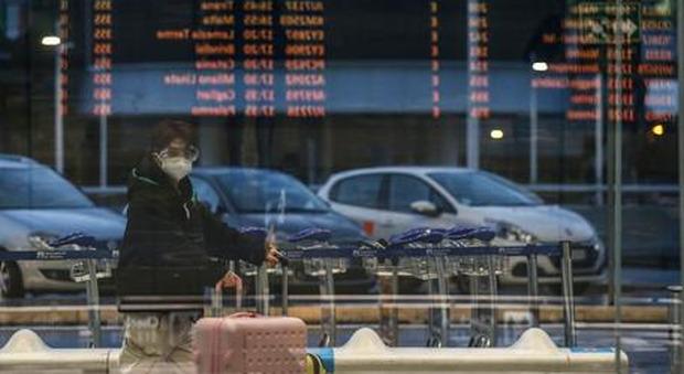 Arriva a Fiumicino il primo volo Delta covid-tasted senza obbligo di quarantena