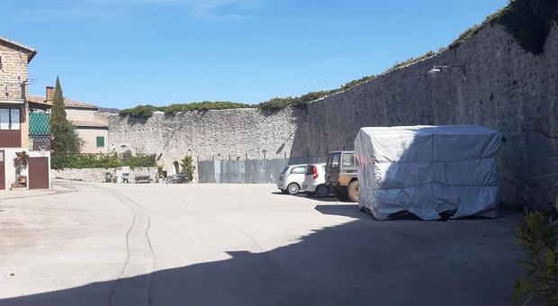 Amelia, approvato il progetto per la ricostruzione delle mura trecentesche del castello di Macchie.