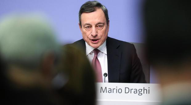 BCE, Draghi allontana lo spettro recessione in Italia e Germania