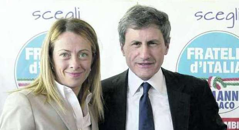 Giorgia Meloni e Gianni Alemanno