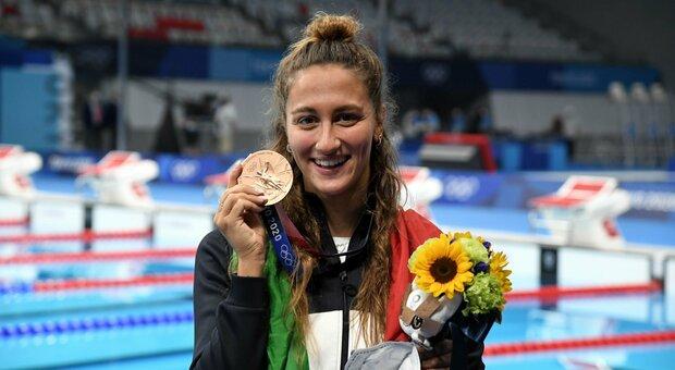 Chi è Simona Quadarella, la romana bronzo negli 800 stile libero