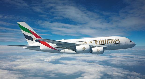 Emirates: dal 15 luglio ripartono i voli di linea per Roma