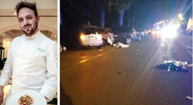 Roma, lo chef Narducci ucciso dall'automobilista al cellulare