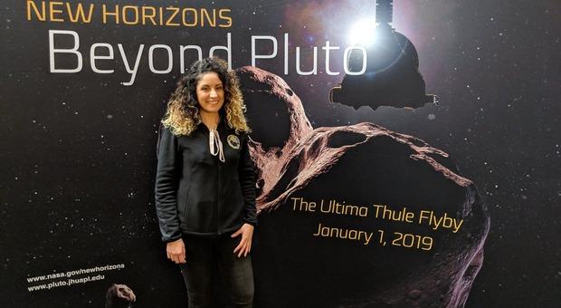 La ricercatrice Francesca Scipioni, la giovane astrofisica italiana nel team di New Horizons