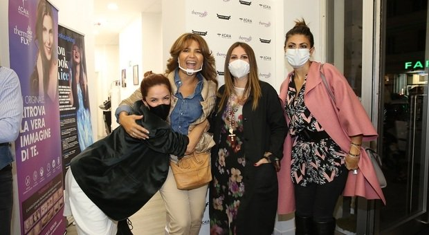 Andrea Delogu, Tosca D'Aquino, Carmela Pisano e Flora Canto_ Credits Ph. A. Canestrelli / Reporters Associati & Archivi