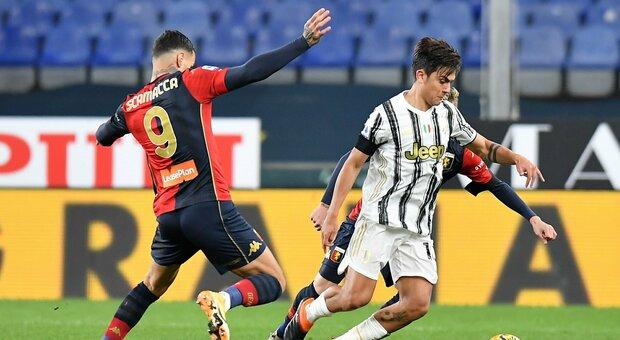 Pagelle Genoa Juventus, Dybala rinasce, Ronaldo il solito fenomeno. Sturaro illude