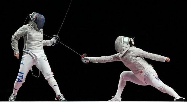 Diretta finale bronzo sciabola, Italia-Corea del Sud