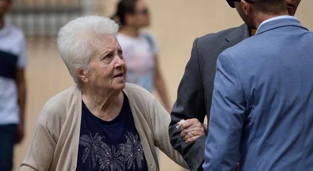 La signora Maria Laura Minelli, una delle anziane morte nella casa-famiglia di Lanuvio