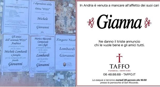 Gianna morta ad Andria, ma sul manifesto c'è il nome da uomo. Caso di Transfobia in Puglia