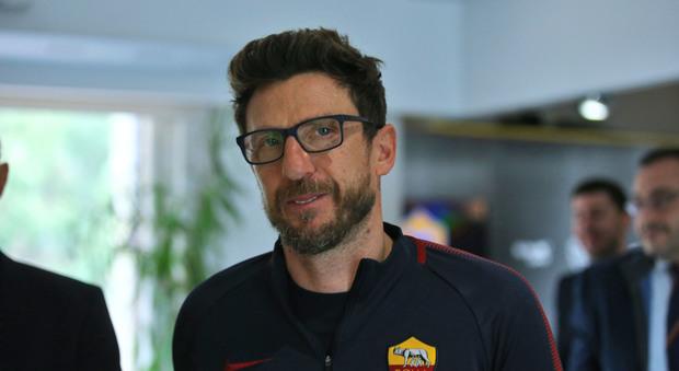 Di Francesco, prof a Tor Vergata. «La Roma è rinata dopo Napoli»