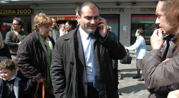 L'ex sindaco di Marino, Adriano Palozzi