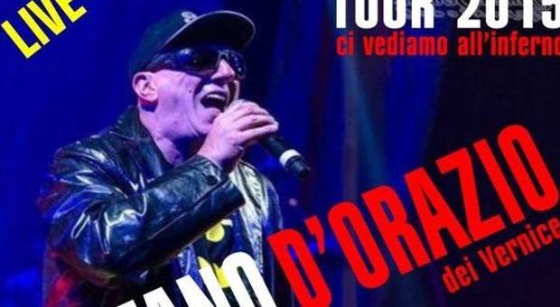 """Planet Roma, Stefano d'Orazio dei Vernice in concerto con """"Non posso stare senza te"""""""