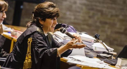 Il magistrato Manuela Comodi