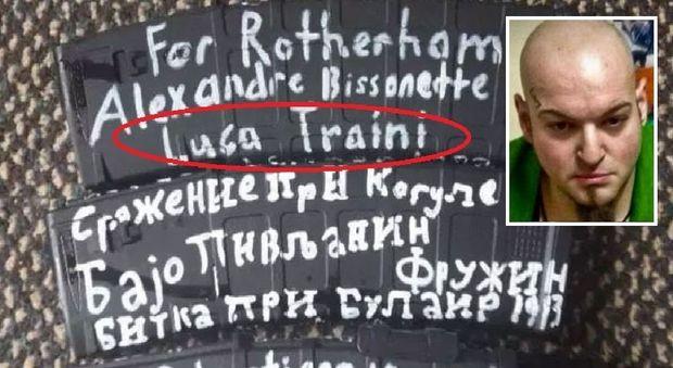 Strage Nuova Zelanda, sul mitra del killer una dedica a Luca Traini