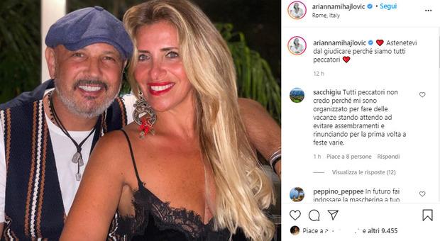 Mihajlovic positivo, critiche per le serate senza mascherina, la moglie risponde così