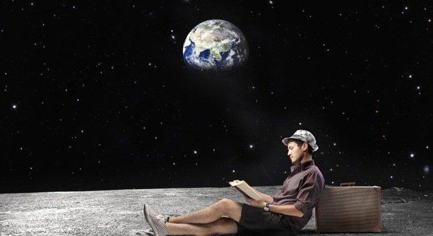 Una simpatica immagine sul turismo spaziale