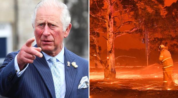 Principe Carlo, donazione milionaria per le vittime degli incendi in Australia