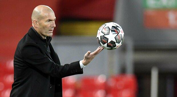 Superlega, Zidane «Sanzioni Uefa? Assurdo immaginare la Champions senza il Real Madrid»