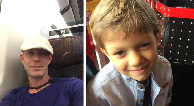 Bimbi scomparsi, la denuncia di un papà: «Mio figlio Lucas svanito nel nulla da 4 anni per mano dei nonni: aiutatemi a ritrovarlo»