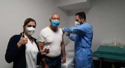 """Coronavirus, giornata storica per la Rsa """"Città di Rieti"""": partite le vaccinazioni al personale e agli utenti"""