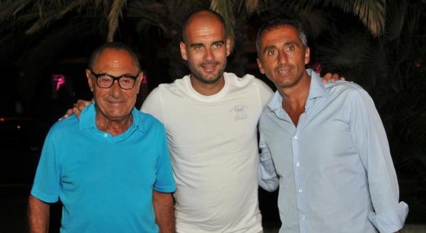 Vincenzo Marinelli, Pep Guardiola e Manuel Estiarte a Pescara