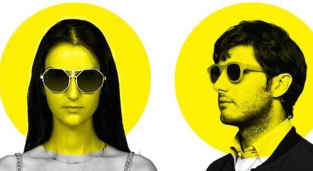 Gli occhiali dallo stile futuristic-vintage presentati alla MFW