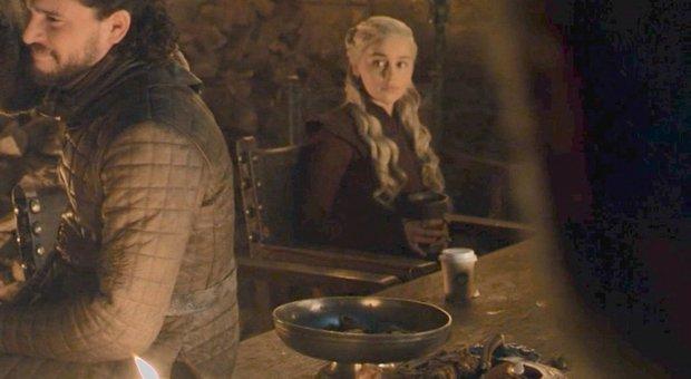 Daenerys Targaryen nella sena