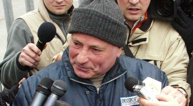 Graziano Mesina, ex primula rossa del banditismo sardo, scarcerato per decorrenza dei termini
