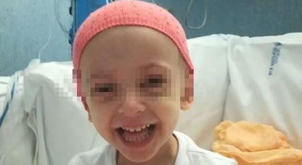 Elisa, fallito il trapianto per la bimba malata di leucemia. L'appello del papà: si cerca un nuovo donatore