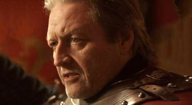 Morto BJ Hogg del Trono di Spade: aveva 65 anni, nella serie era Ser Addam Marbrand