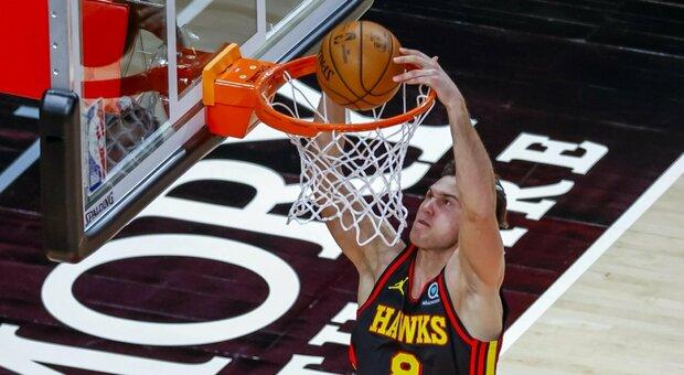 NBA, Brooklyn perfetta: Clippers ko. Melli-Gallinari, notte da sorrisi