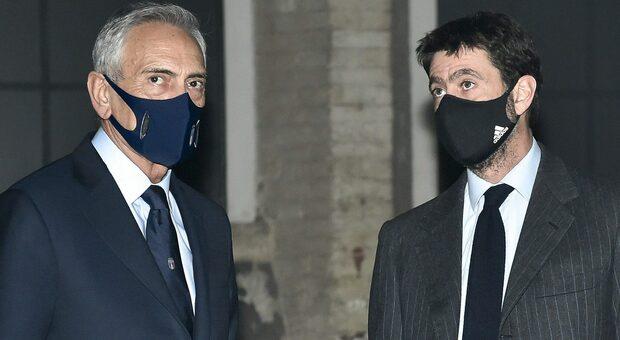 Superlega, Gravina (Figc): «Con Agnelli ci sono i presupposti per il dialogo»