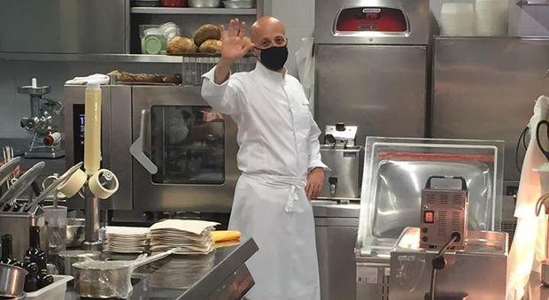 Niko Romito al ristorante reale di Castel di Sangro