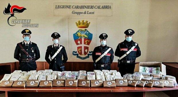Catanzaro, sorpresa al posto di blocco: avevano 17 chili di cocaina in auto e 5 milioni di euro sotterrati in giardino