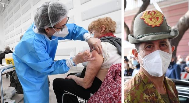 Vaccini, il commissario Figliuolo: «Il piano non deve cambiare ogni 2 settimane, in arrivo tre milioni di dosi»