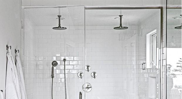 Come trasformare una doccia in uno spazio spa