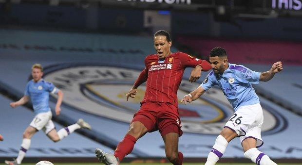 Premier, il Liverpool campione cade, 4-0, davanti al City di Guardiola
