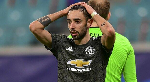 Manchester United eliminato dal Lipsia, era sotto 3-0. Spettacolo Siviglia