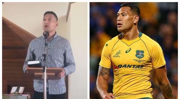 «I morti negli incendi in Australia sono il Giudizio di Dio che non vuole matrimoni gay e aborto», il sermone dell'ex stella del rugby, Israel Folau