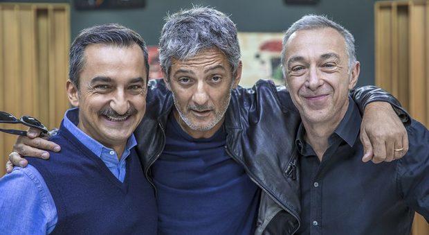 Nicola Savino, Fiorello, Linus