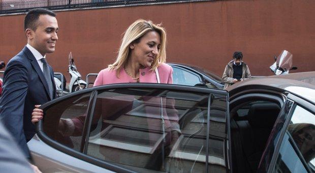 Di Maio con la fidanzata Virginia Saba a Otto e Mezzo: «Per noi è un momento importante»