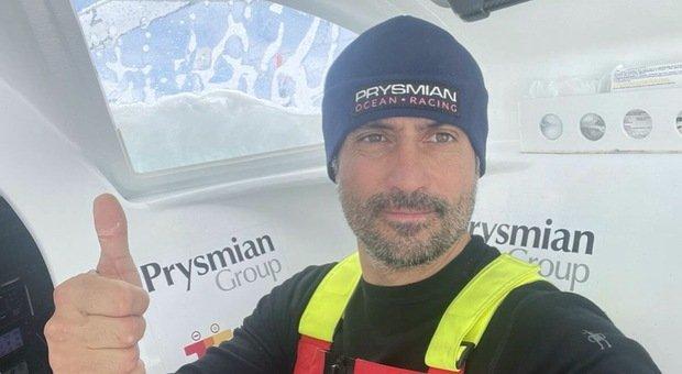 Vendée Globe, passaggio alla longitudine del Punto Nemo per Giancarlo Pedote e Prysmian Group