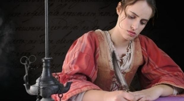 "Un'immagine del film ""Artemisia Gentileschi-Pittrice guerriera"""