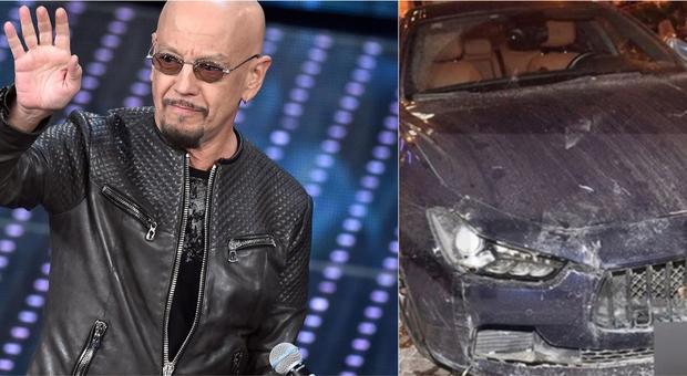 Incidente autostrada A10 per Enrico Ruggeri e la sua Maserati