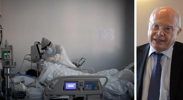 Covid, l'infettivologo Galli: «Le terapie intensive si svuotano, ma per i tanti morti»