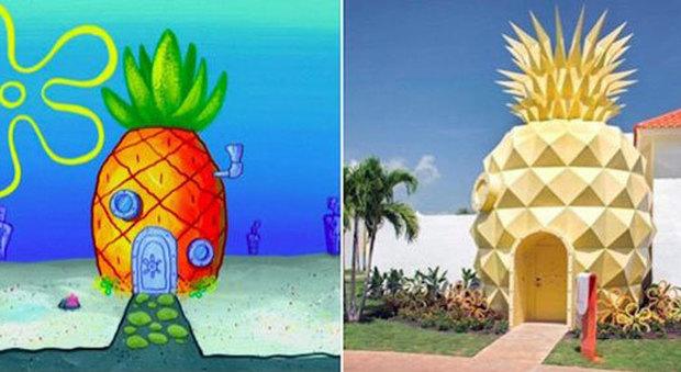La casa di SpongeBob esiste davvero: l'affitto costa 3500 dollari a notte