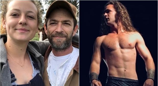 Luke Perry morto, lascia tutto ai figli Jack e Sophie: lui wrestler lei volontaria