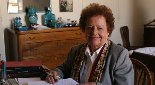 La scrittrice Lia Levi