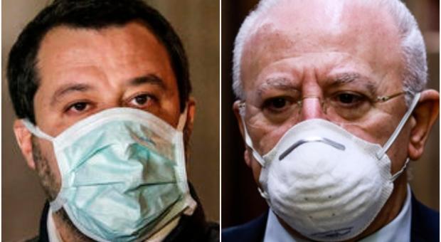 Campania, nuova stretta di De Luca: «Chiusura immediata per i negozi dove non si usa la mascherina»