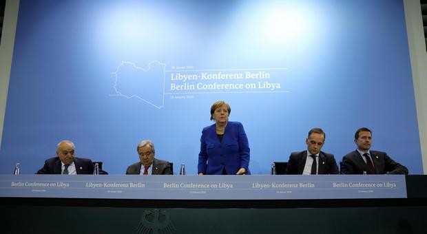 Risultati immagini per berlin summit libia